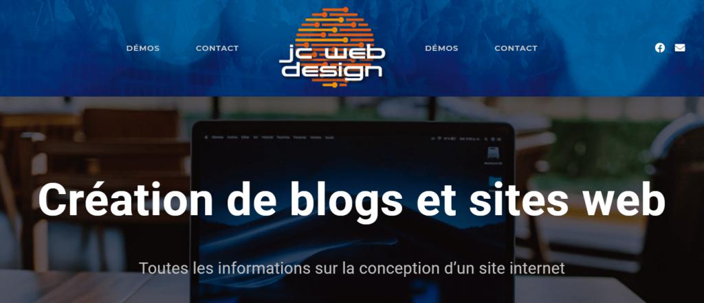 Read more about the article JC Webdesign est en ligne
