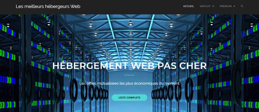 Les meilleurs Hébergements Web